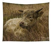 Camouflaged Cow Tapestry