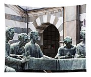 Campari Grave Marker Detail IIi Disciples Last Supper Tapestry