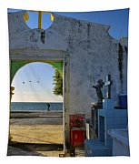 Campeche Malecon Tapestry