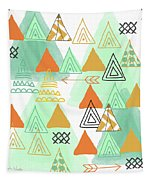 Camping Tapestry by Linda Woods