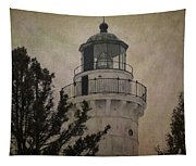 Cana Island Light Tapestry