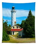 Cana Island Wi Lighthouse Tapestry