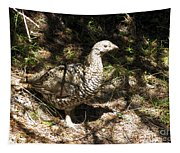 Canada Grouse Tapestry