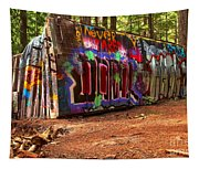 Canadian Pacific Deraiment Remnants Tapestry