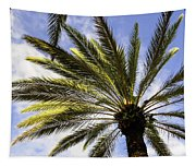 Canary Island Date Palm Tapestry