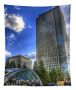 Canary Wharf Station London Tapestry