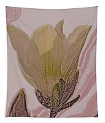 Canary Yellow Magnolia Tapestry
