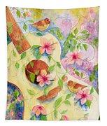 Cancion De Las Flores Tapestry