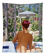 Candace Being Candlish On Canvas Tapestry