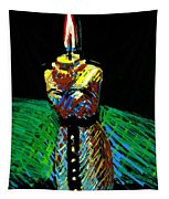 Candle Bust Tapestry