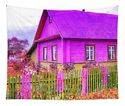 Candy Cottage - Featured In Comfortable Art Group Tapestry