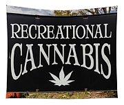 Cannabis Marijuana Store In Ridgway Tapestry