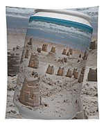 Canned Castles Tapestry