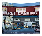 Cannery Row Area At Dawn, Monterey Tapestry