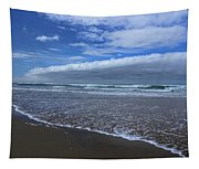 Cannon Beach Surf And Storm Tapestry