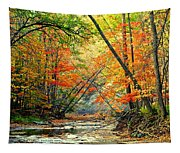 Canopy Of Color II Tapestry