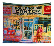 Cantors Bakery Tapestry