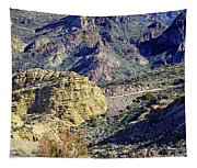 Canyon Road Tapestry