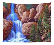 Canyon Waterfall Tapestry