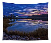 Cape Charles Sunrise Tapestry