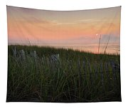 Cape Cod Bay Sunset Tapestry