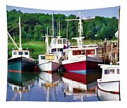 Cape Cod Harbor  Tapestry