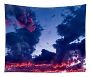 Cape Le Grande Sunset Tapestry