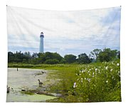 Cape May Lighthouse - New Jersey Tapestry