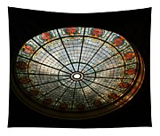Capital Building Stained Glass 2 Tapestry