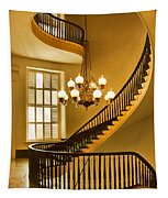 2 - Capitol Staircase - Montgomery Alabama Tapestry