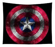 Captain America Shield Tapestry