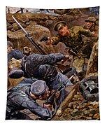 Captain Reginald James Young Winning Tapestry
