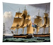 Capture Of The Furie And Waakzaamheid Tapestry