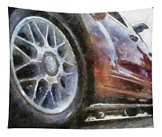 Car Rims 01 Photo Art 02 Tapestry
