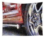 Car Rims 02 Photo Art 02 Tapestry