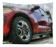 Car Rims 04 Photo Art 03 Tapestry
