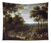 Cardinal-infante On The Hunt Tapestry