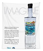 Carey Chen Big Chill Vodka By Jimmy Johnson Tapestry