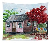 Caribbean House Tapestry