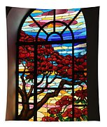 Caribbean Stained Glass  Tapestry