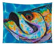 Caribbean Tarpon Fish Tapestry