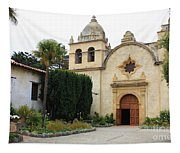 Carmel Mission Church Tapestry
