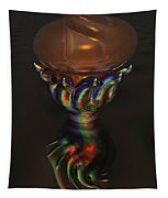 Carnival Glass Bulb Sprouter  Tapestry