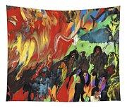 Carnival In Spain Tapestry