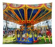 Carnival - Super Swing Ride Tapestry