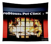 Carol House Quick Fix Pet Clinic Tapestry