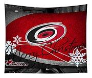 Carolina Hurricanes Christmas Tapestry