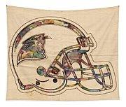 Carolina Panthers Logo Art Tapestry