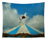 Carousel Day Tapestry