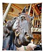 Carousel Horse Head Tapestry
